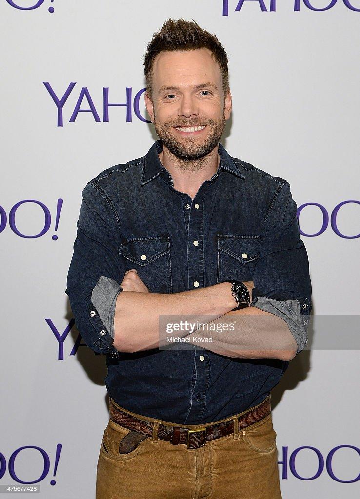 Actor Joel McHale attends the LA Times Envelope Emmy event for 'Community' on Yahoo Screen at ArcLight Sherman Oaks on June 2 2015 in Sherman Oaks...