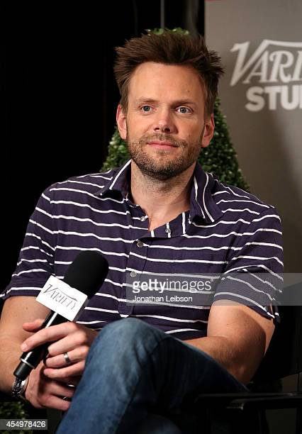 Actor Joel McHale attends the Variety Studio presented by Moroccanoil at Holt Renfrew during the 2014 Toronto International Film Festival on...