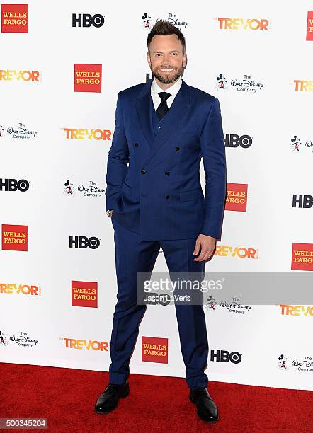 Actor Joel McHale attends TrevorLIVE LA 2015 at Hollywood Palladium on December 6 2015 in Los Angeles California