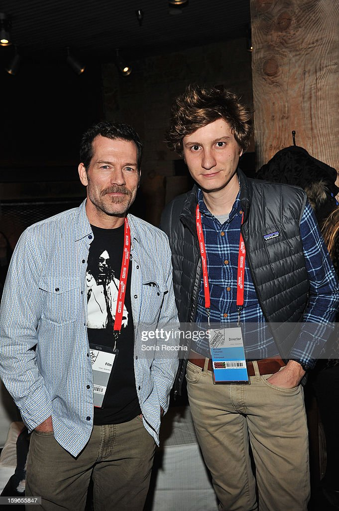 Actor Joel Nagle and director Michael Tyburski attend the Day One Party during the 2013 Sundance Film Festival at Legacy Lodge on January 17, 2013 in Park City, Utah.