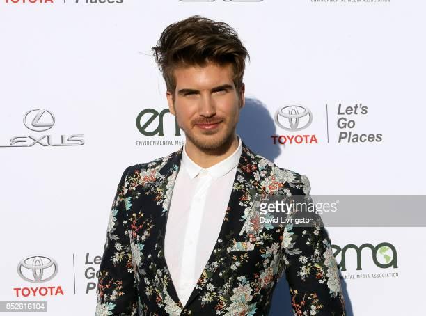 Actor Joey Graceffa attends the 27th Annual EMA Awards at Barker Hangar on September 23 2017 in Santa Monica California