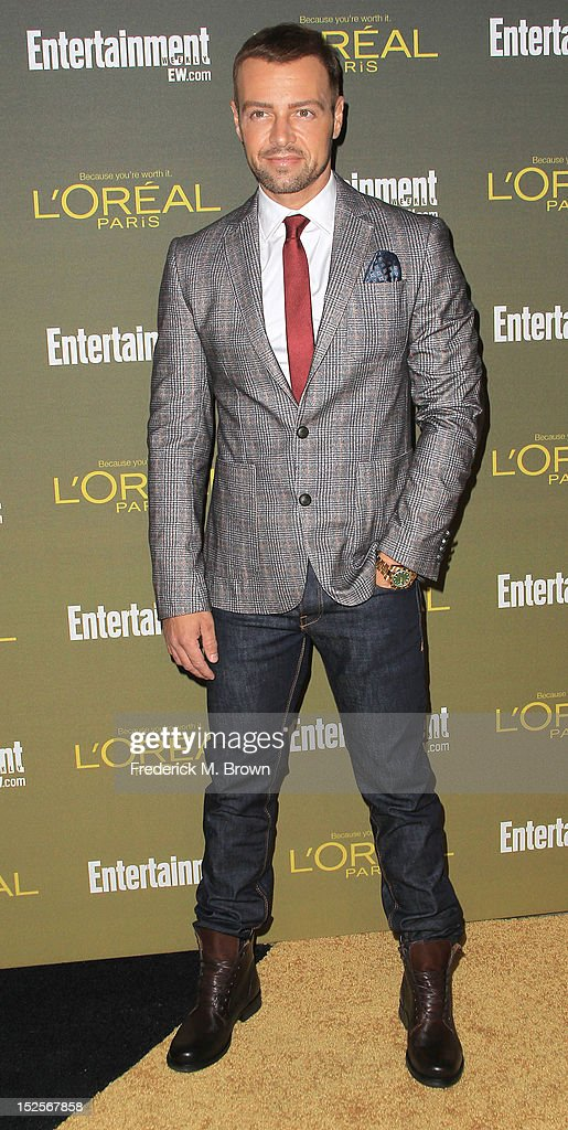 Actor <a gi-track='captionPersonalityLinkClicked' href=/galleries/search?phrase=Joey+Lawrence&family=editorial&specificpeople=1521741 ng-click='$event.stopPropagation()'>Joey Lawrence</a> attends the 2012 Entertainment Weekly Pre-Emmy Party at the Fig & Olive on September 21, 2012 in West Hollywood, California.