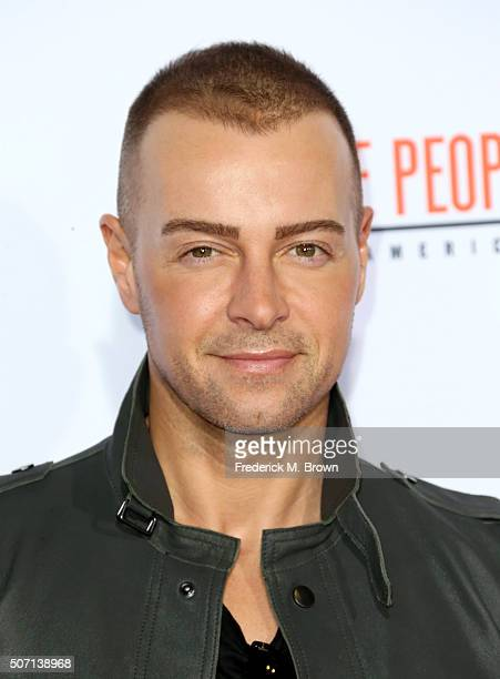 Actor Joey Lawrence attends the premiere of FX's 'American Crime Story The People V OJ Simpson' at Westwood Village Theatre on January 27 2016 in...