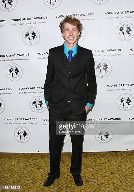 Actor Joey Luthman attends the 36th annual Young Artist Awards at The Sportsmens Lodge on March 15 2015 in Studio City California