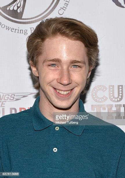 Actor Joey Luthman attends the official launch of The EPIC Project Empowering People In Chairs at Cupcake Theater on January 26 2017 in Los Angeles...