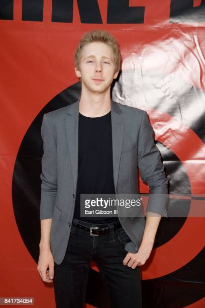 Actor Joey Luthman attends the Premiere Of HT Pictures 'Mike Boy' at Laemmle Music Hall on September 1 2017 in Beverly Hills California