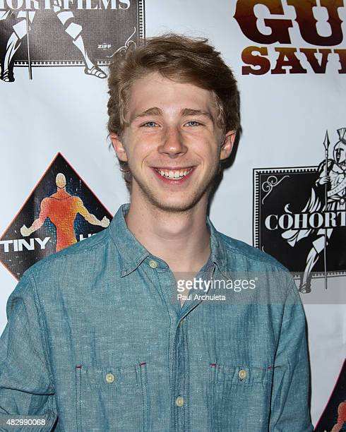 Actor Joey Luthman attends the special screening of 'Six Gun Savior' at The Crest Theatre on August 4 2015 in Westwood California