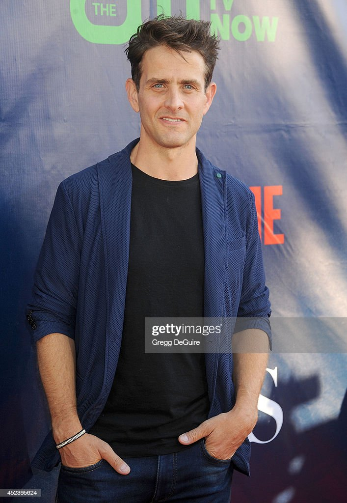 Actor <a gi-track='captionPersonalityLinkClicked' href=/galleries/search?phrase=Joey+McIntyre&family=editorial&specificpeople=650190 ng-click='$event.stopPropagation()'>Joey McIntyre</a> arrives at the 2014 Television Critics Association Summer Press Tour - CBS, CW And Showtime Party at Pacific Design Center on July 17, 2014 in West Hollywood, California.