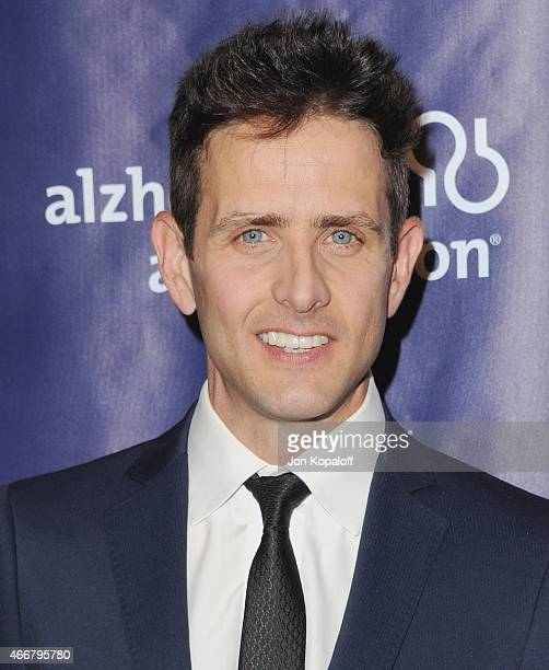 Actor Joey McIntyre arrives at the 23rd Annual 'A Night At Sardi's' To Benefit The Alzheimer's Association at The Beverly Hilton Hotel on March 18...