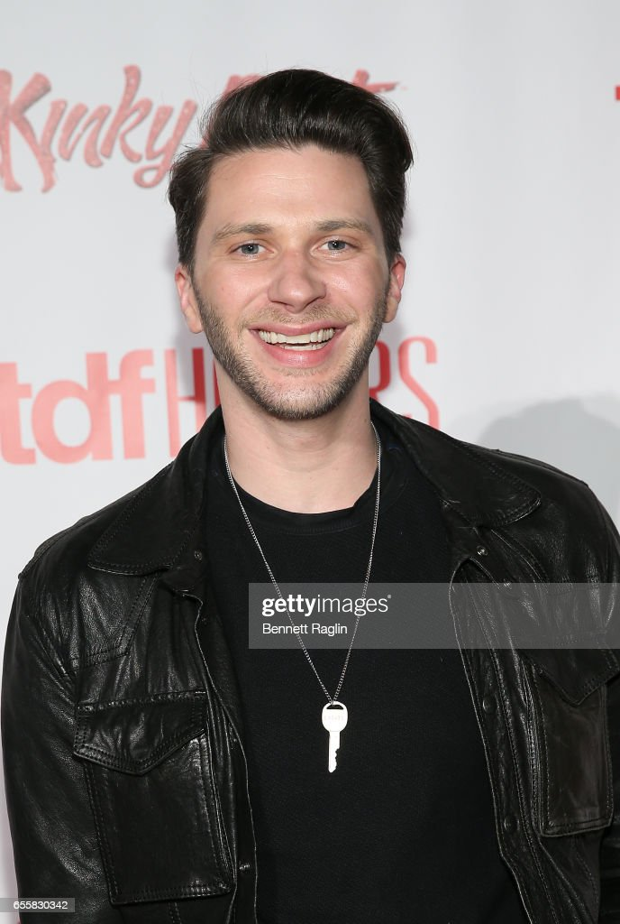 Actor Joey Taranto attends the TDF Honors Broadway's 'Kinky Boots' - Reception at Marriott Marquis Times Square on March 20, 2017 in New York City.
