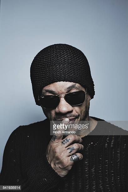 Actor JoeyStarr is photographed for Self Assignment on June 10 2016 in Cabourg France