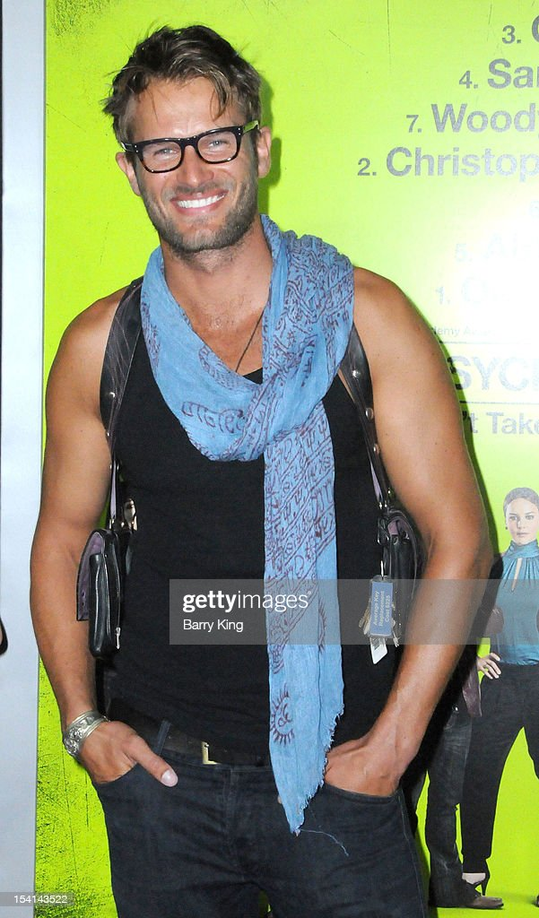 Actor Johann Urb arrives at the Los Angeles Premiere 'Seven Psychopaths' at Mann Bruin Theatre on October 1, 2012 in Westwood, California.