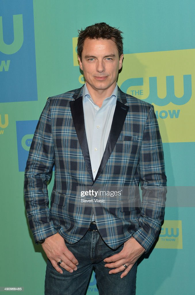 Actor John Barrowman attends the CW Network's New York 2014 Upfront Presentation at The London Hotel on May 15, 2014 in New York City.
