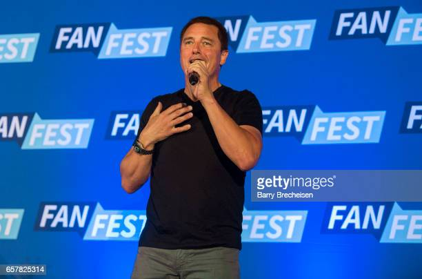 Actor John Barrowman during the Walker Stalker Con Chicago at the Donald E Stephens Convention Center on March 25 in Rosemont Illinois