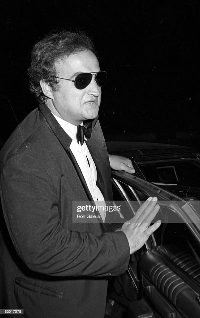 Actor John Belushi attending 'Halston Dinner Dance' on August 10, 1981 at Olympic Towers in New York City, New York.