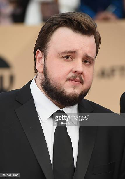 Actor John Bradley attends the 22nd Annual Screen Actors Guild Awards at The Shrine Auditorium on January 30 2016 in Los Angeles California