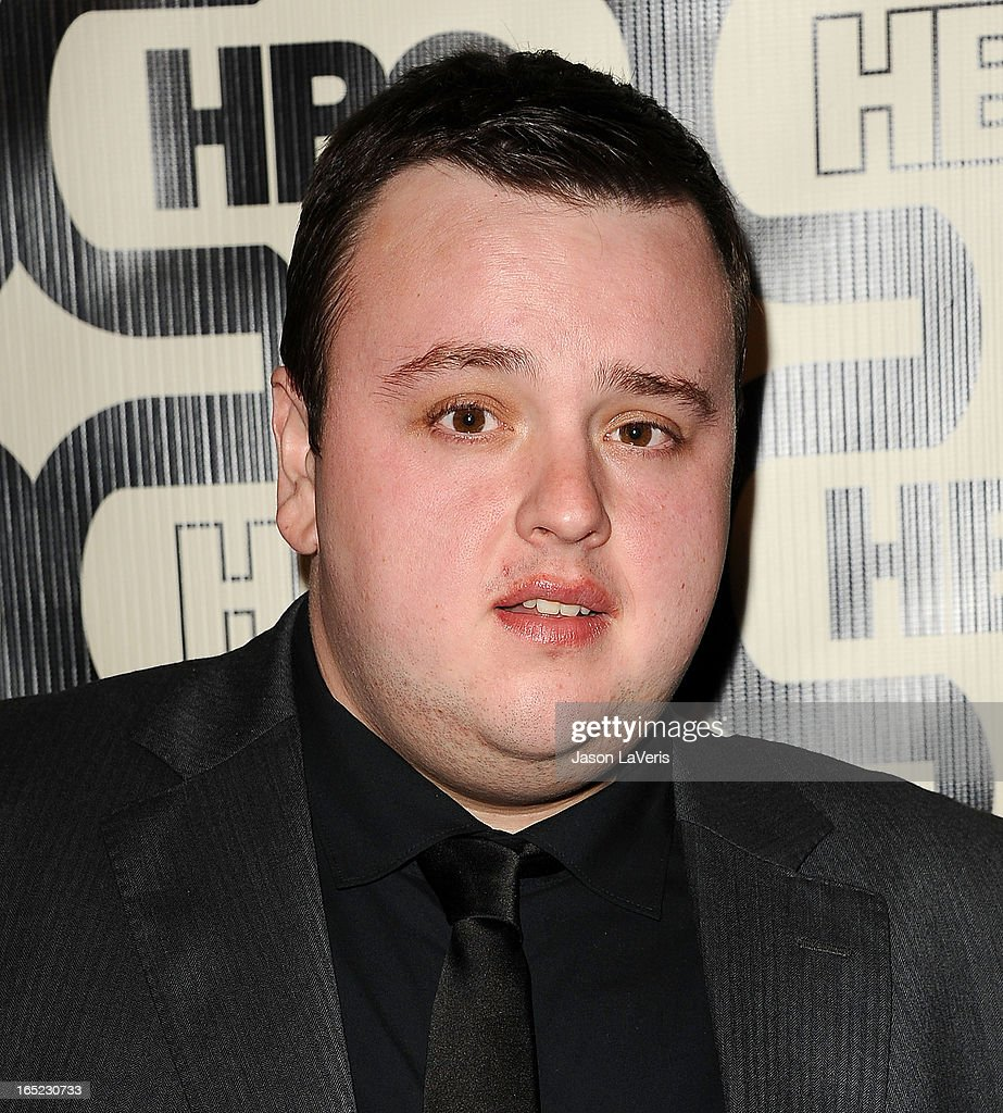 Actor John Bradley attends the HBO after party at the 70th annual Golden Globe Awards at Circa 55 restaurant at the Beverly Hilton Hotel on January 13, 2013 in Los Angeles, California.