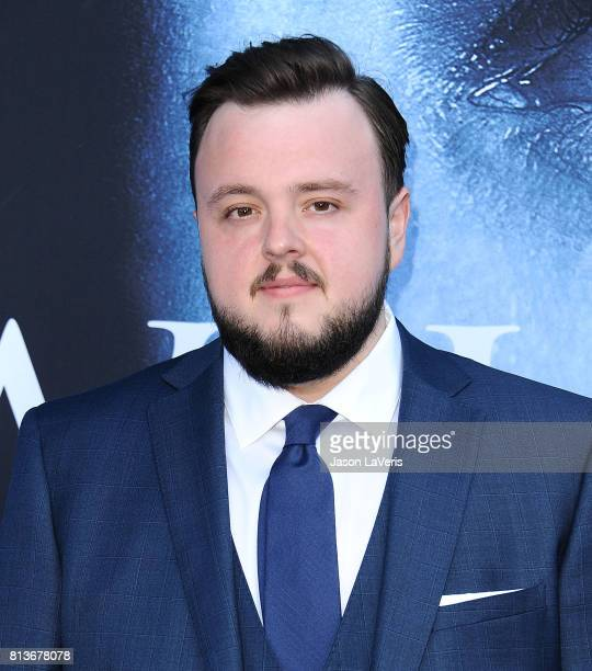 Actor John Bradley attends the season 7 premiere of 'Game Of Thrones' at Walt Disney Concert Hall on July 12 2017 in Los Angeles California