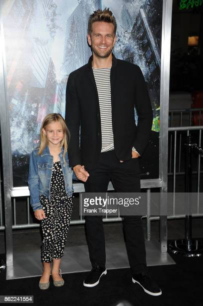 Actor John Brotherton attends the premiere of Warner Bros Pictures' 'Geostorm' on October 16 2017 at the TCL Chinese Theater in Hollywood California
