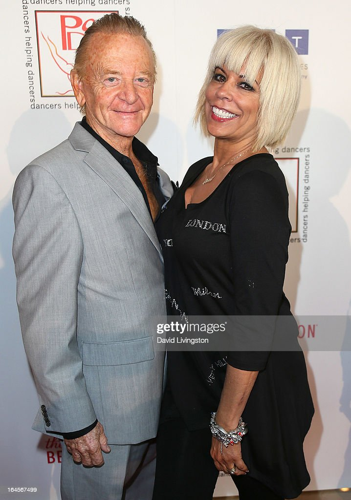 Actor John Byner (L) and wife actress Anne Gaybis attend the Professional Dancers Society's Gypsy Awards Luncheon at The Beverly Hilton Hotel on March 24, 2013 in Beverly Hills, California.