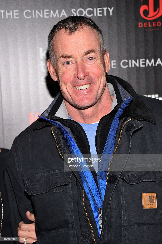 Actor John C. McGinley attends The Cinema Society with Men's Health and DeLeon hosted screening of The Weinstein Company's 'Killing Them Softly' on November 26, 2012 in New York City.