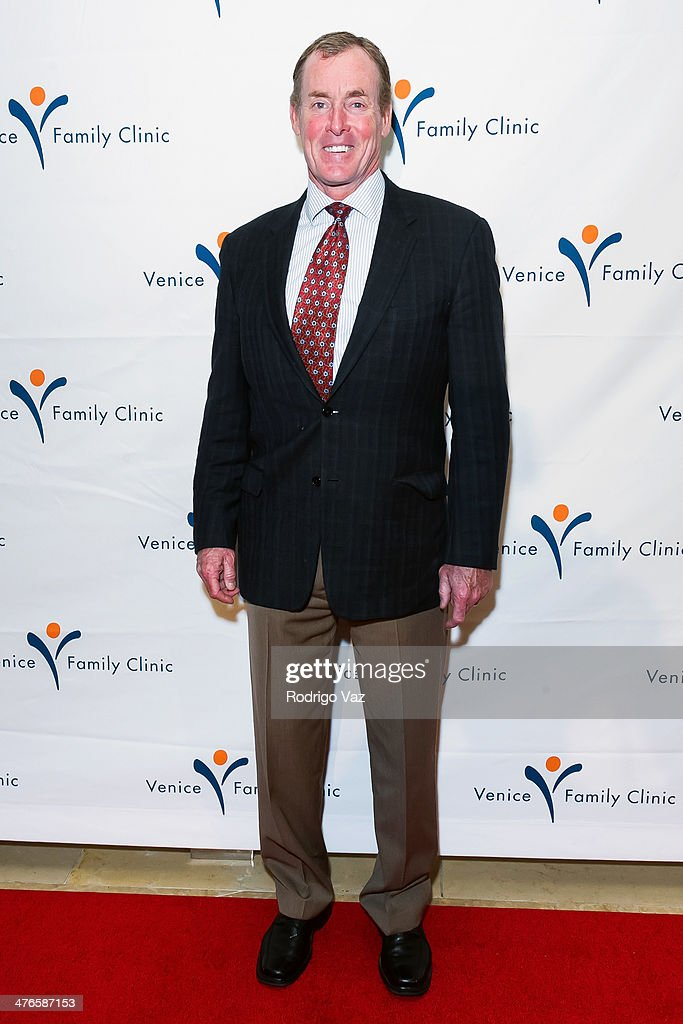 Actor <a gi-track='captionPersonalityLinkClicked' href=/galleries/search?phrase=John+C.+McGinley&family=editorial&specificpeople=227007 ng-click='$event.stopPropagation()'>John C. McGinley</a> attends the Venice Family Clinic's 35th Annual Silver Circle Gala at The Beverly Hilton Hotel on March 3, 2014 in Beverly Hills, California.