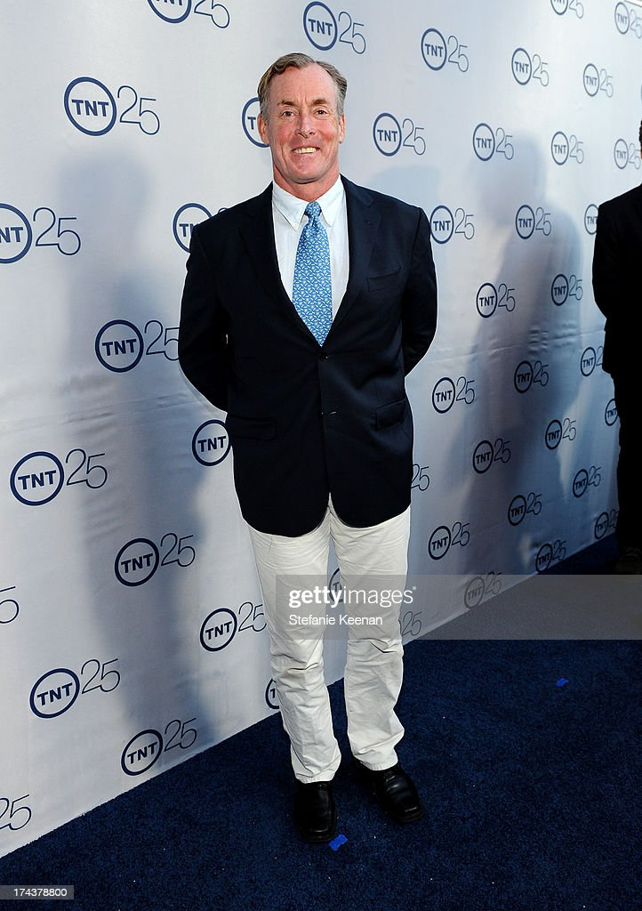 Actor <a gi-track='captionPersonalityLinkClicked' href=/galleries/search?phrase=John+C.+McGinley&family=editorial&specificpeople=227007 ng-click='$event.stopPropagation()'>John C. McGinley</a> attends TNT 25TH Anniversary Party during Turner Broadcasting's 2013 TCA Summer Tour at The Beverly Hilton Hotel on July 24, 2013 in Beverly Hills, California.
