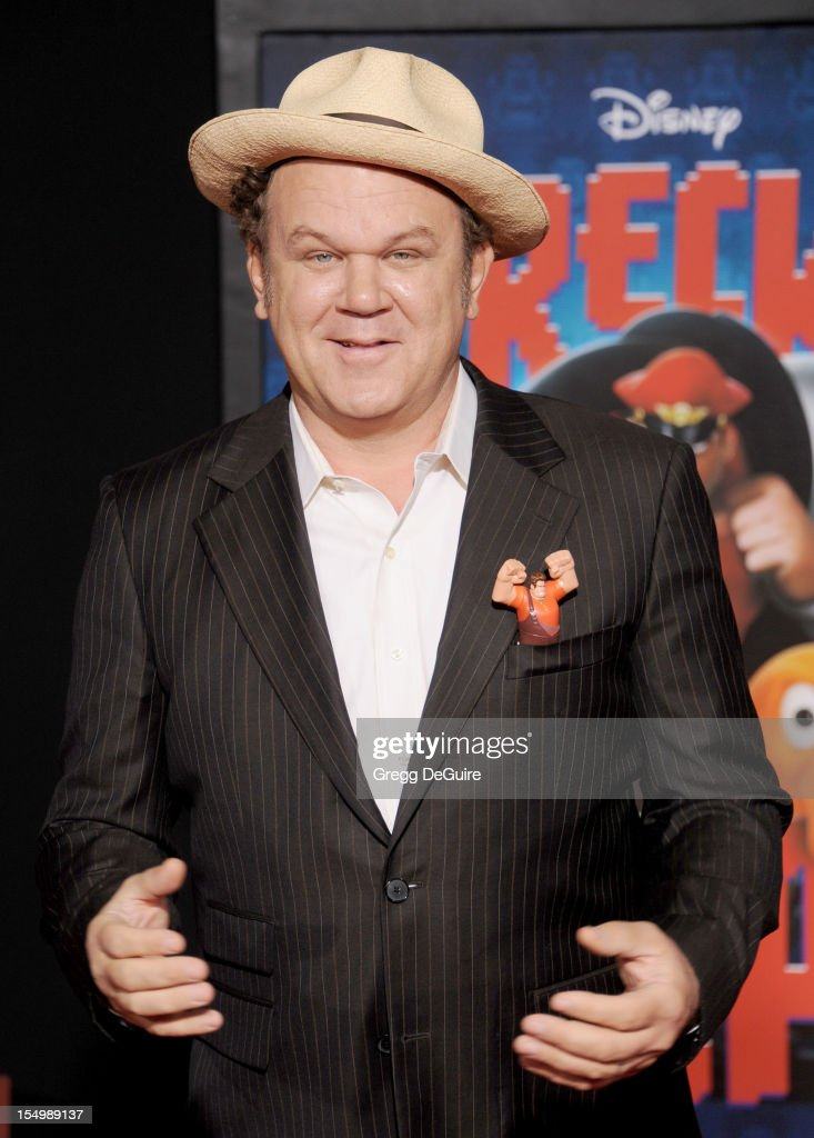 Actor John C. Reilly arrives at the Los Angeles premiere of 'Wreck-It Ralph' at the El Capitan Theatre on October 29, 2012 in Hollywood, California.