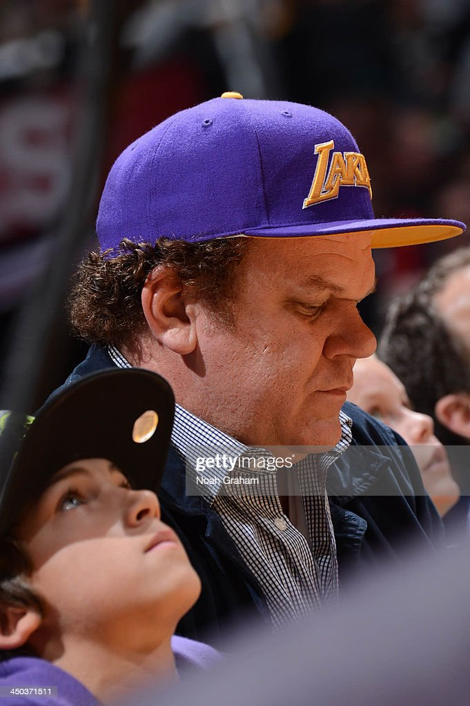 Actor <a gi-track='captionPersonalityLinkClicked' href=/galleries/search?phrase=John+C.+Reilly&family=editorial&specificpeople=210786 ng-click='$event.stopPropagation()'>John C. Reilly</a> attends a game between the Memphis Grizzlies and the Los Angeles Lakers at Staples Center on November 15, 2013 in Los Angeles, California.