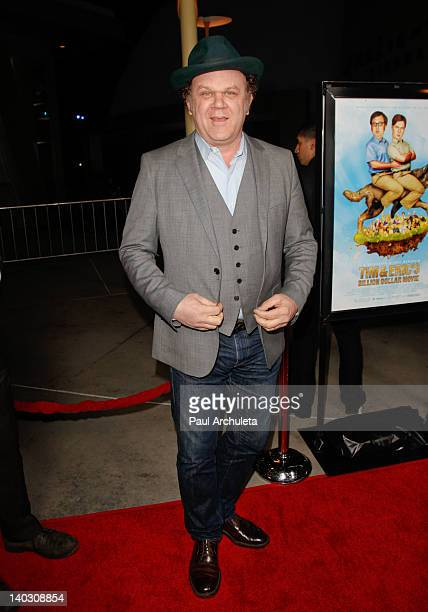 Actor John C Reilly attends the 'Tim Eric'$ Billion Dollar Movie' Los Angeles premiere at the ArcLight Hollywood on March 1 2012 in Hollywood...