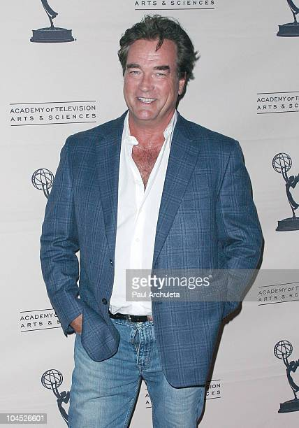 Actor John Callahan arrives at the Academy Of Television's presentation to 'Celebrate 45 Years Of Days Of Our Lives' at Leonard H Goldenson Theatre...