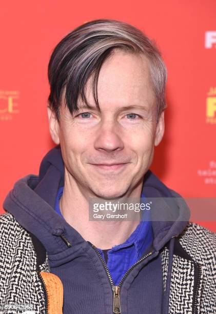 Actor John Cameron Mitchell attends 'The Assassination Of Gianni Versace American Crime Story' New York screening at Metrograph on December 11 2017...