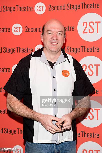 Actor John Carroll Lynch attends 2014 Second Stage Theatre's AllStar Bowling Classic fundraiser at Lucky Strike Lanes Lounge on February 3 2014 in...