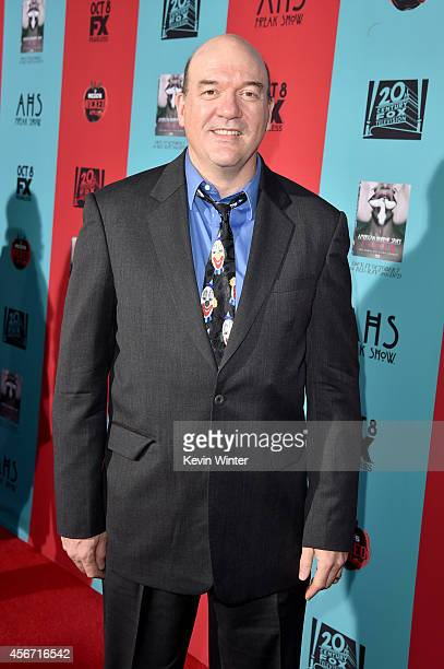 Actor John Carroll Lynch attends the premiere screening of FX's 'American Horror Story Freak Show' at TCL Chinese Theatre on October 5 2014 in...