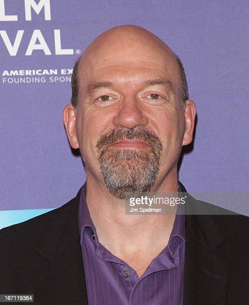 Actor John Carroll Lynch attends the screening of 'The Pretty One' during the 2013 Tribeca Film Festival at SVA Theater on April 20 2013 in New York...
