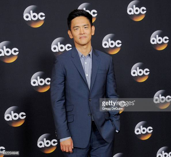 Actor John Cho arrives at the 2014 Television Critics Association Summer Press Tour Disney/ABC Television Group at The Beverly Hilton Hotel on July...