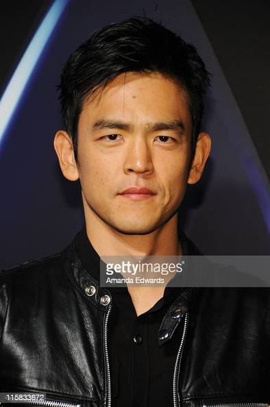 Actor John Cho arrives at the Star Trek DVD and BluRay release party at the Griffith Observatory on November 16 2009 in Los Angeles California