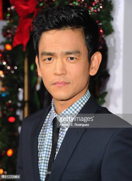 Actor John Cho arrives to the premiere of New Line Cinema's 'A Very Harold Kumar 3D Christmas' at Grauman's Chinese Theatre on November 2 2011 in...