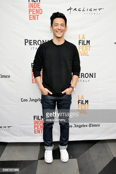 Actor John Cho attends Coffee Talk Actors during the 2016 Los Angeles Film Festival at The Culver Hotel on June 5 2016 in Culver City California