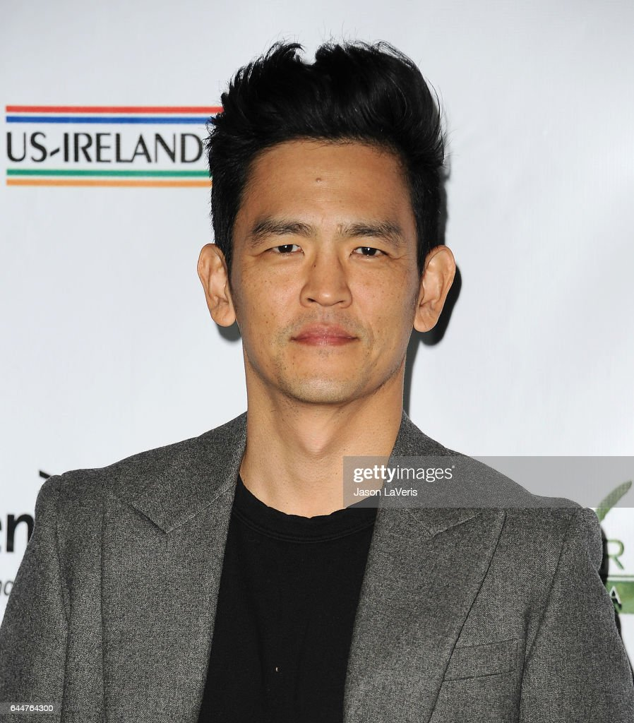Actor John Cho attends the 12th annual Oscar Wilde Awards at Bad Robot on February 23, 2017 in Santa Monica, California.