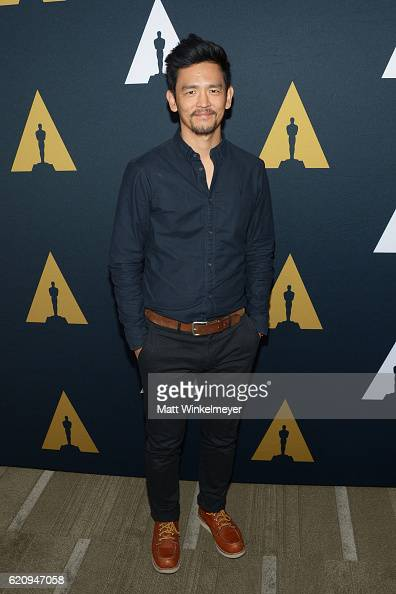 Actor John Cho attends the 2016 Academy Nicholl Fellowships in Screenwriting Awards presentation and live read at Samuel Goldwyn Theater on November...