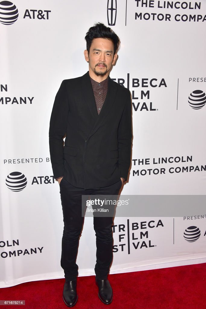 Actor John Cho attends the 2017 Tribeca Film Festival 'Literally, Right Before Aaron' screening at SVA Theatre on April 22, 2017 in New York City.