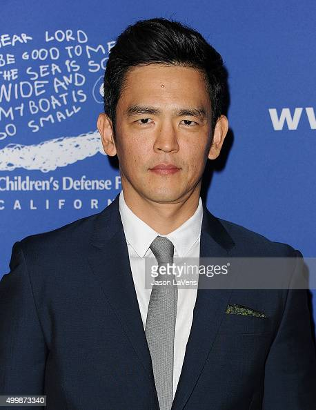 Actor John Cho attends the 25th annual Children's Defense Fund Beat The Odds Awards at the Beverly Wilshire Four Seasons Hotel on December 3 2015 in...