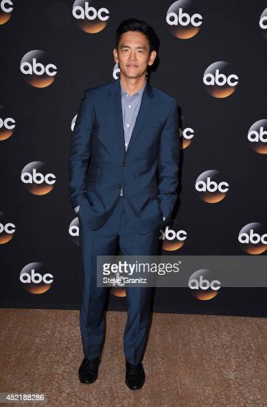 Actor John Cho attends the Disney/ABC Television Group 2014 Television Critics Association Summer Press Tour at The Beverly Hilton Hotel on July 15...