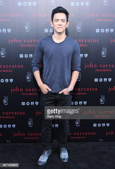 Actor John Cho attends the International Peace Day celebration at John Varvatos on September 21 2014 in Los Angeles California