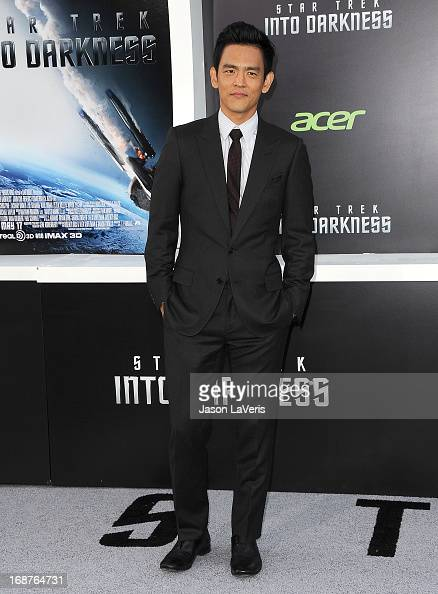 Actor John Cho attends the premiere of 'Star Trek Into Darkness' at Dolby Theatre on May 14 2013 in Hollywood California