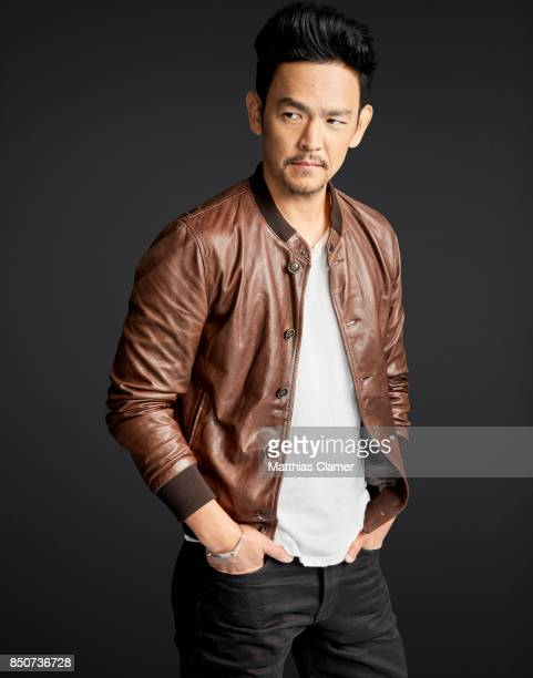 Actor John Cho from The Exorcist is photographed for Entertainment Weekly Magazine on July 20 2017 at Comic Con in San Diego California PUBLISHED...