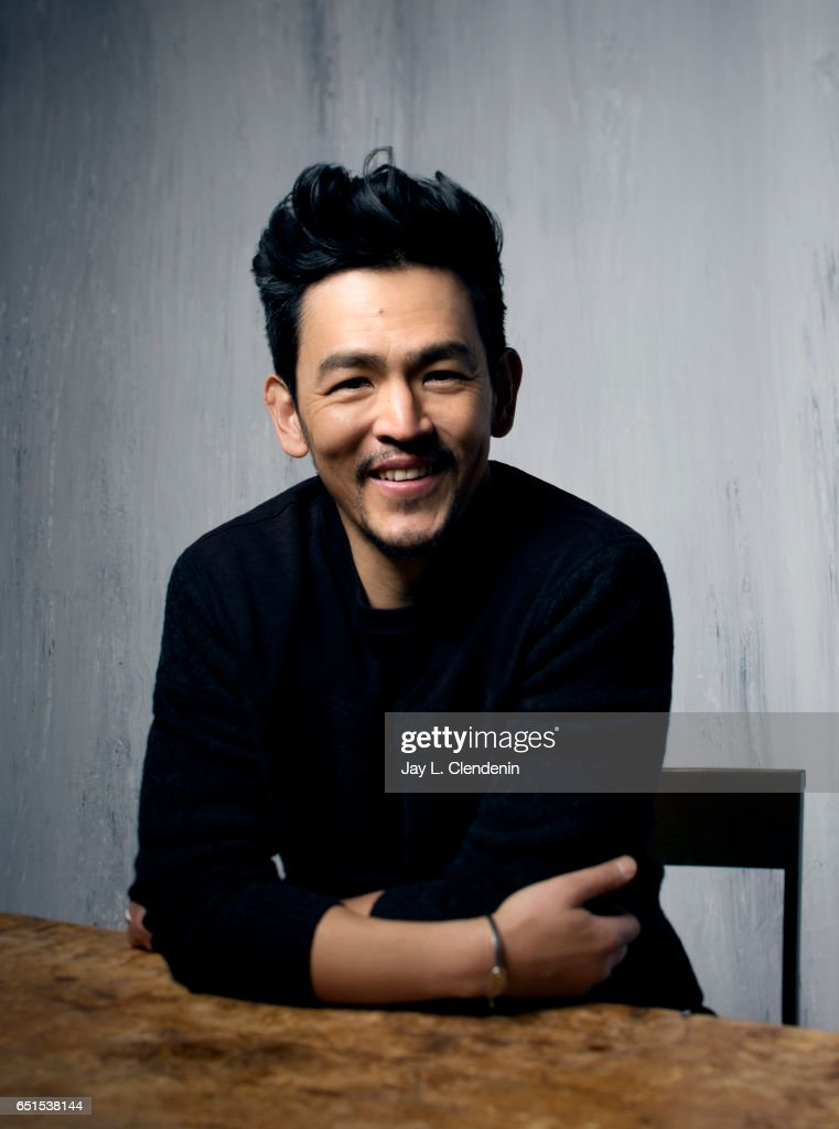 Actor John Cho, from the film Columbus, is photographed at the 2017 Sundance Film Festival for Los Angeles Times on January 22, 2017 in Park City, Utah. PUBLISHED IMAGE.