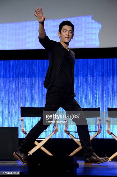 Actor John Cho on stage at The Paley Center for Media's PaleyFest 2014 Honoring 'Sleepy Hollow' at Dolby Theatre on March 19 2014 in Hollywood...