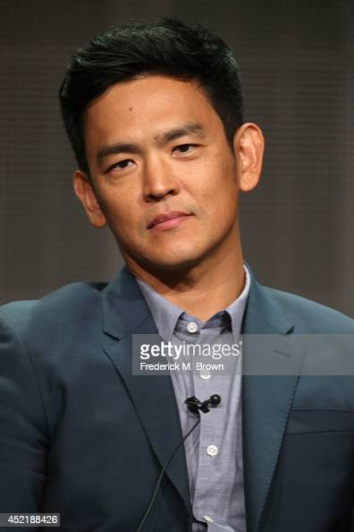 Actor John Cho speaks onstage at the 'Selfie'' panel during the Disney/ABC Television Group portion of the 2014 Summer Television Critics Association...